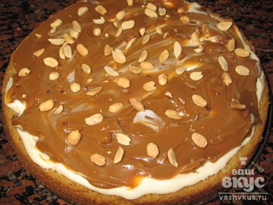Торт лакомка рецепт с пошагово