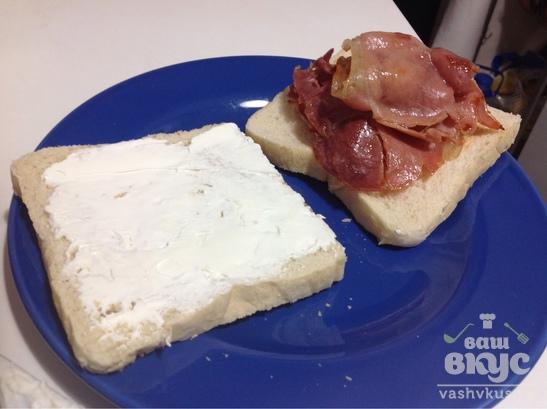 Сытные бутерброды с хамоном на завтрак