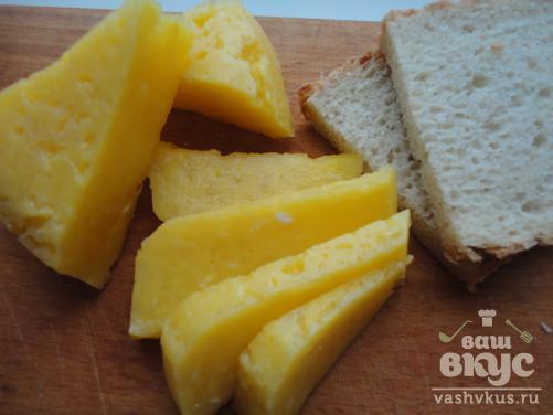 Твердый сыр «по-домашнему»