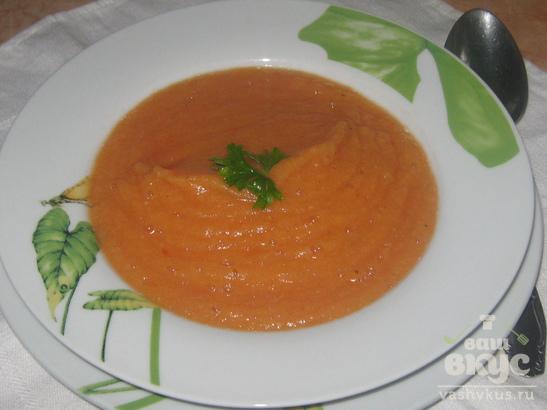 Диетический суп-пюре из цветной капусты