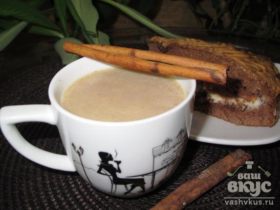 Ванильное какао с корицей