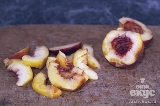 Творожно - фруктовый десерт