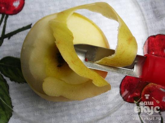 Яблочный джем быстрого приготовления в микроволновке