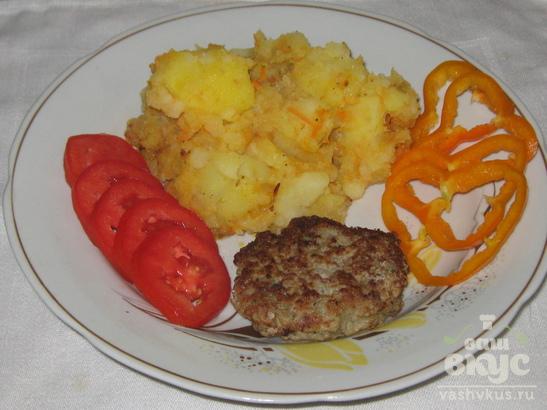Картофель с зажаркой