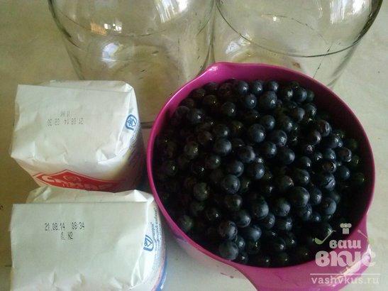 Виноградно - яблочный компот