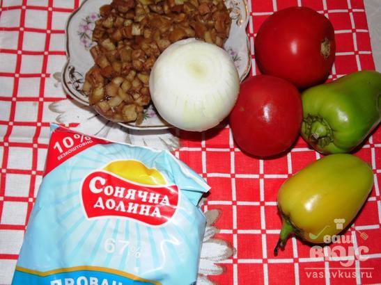 Овощная икра с майонезом