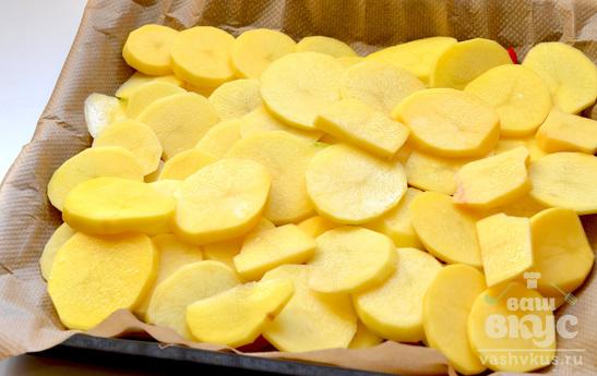 Окорочка в духовке с овощами