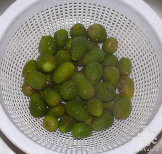 Варенье из зелёного инжира