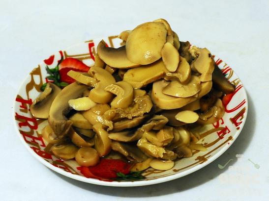 Паста с кабачками и грибами