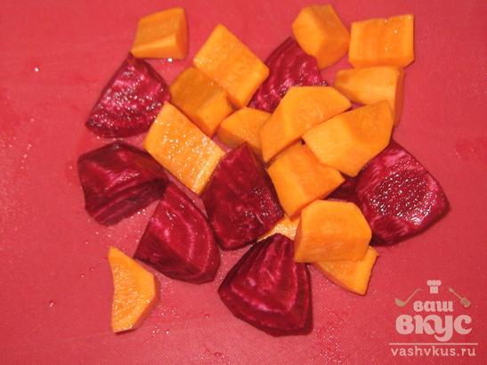 Сок из яблока, моркови и свеклы