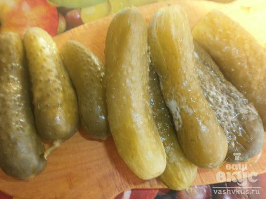 Оливье с мясом