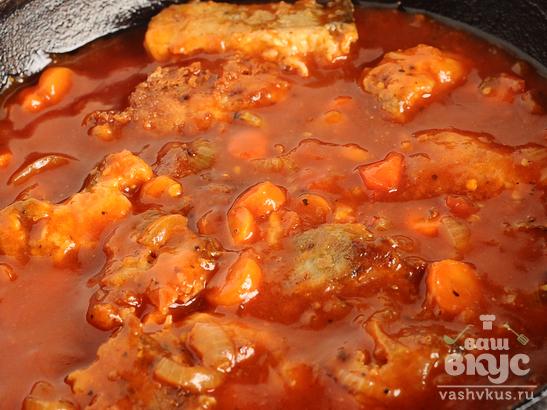 Овощной маринад с рыбой
