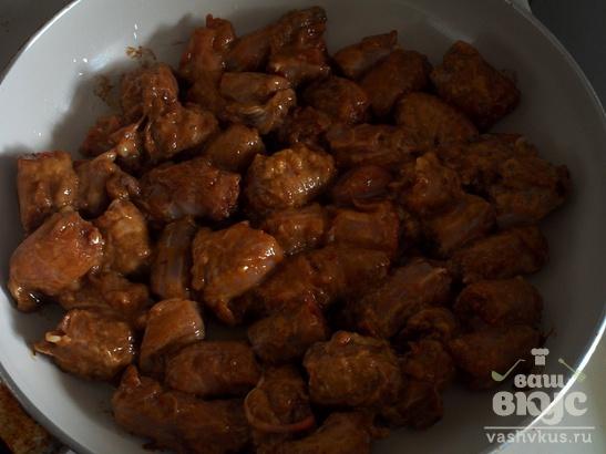 Куриные шеи в соусе