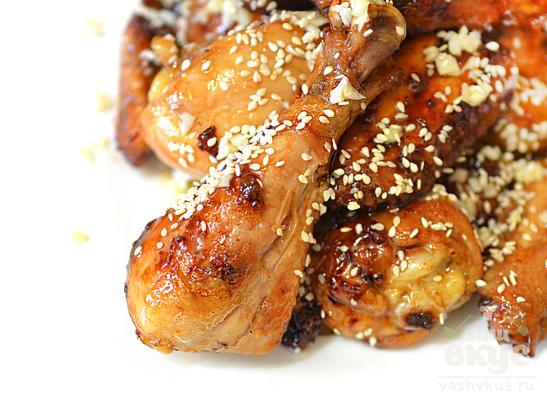 Куриная голень по-китайски