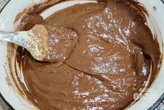 Фондан с горьким шоколадом
