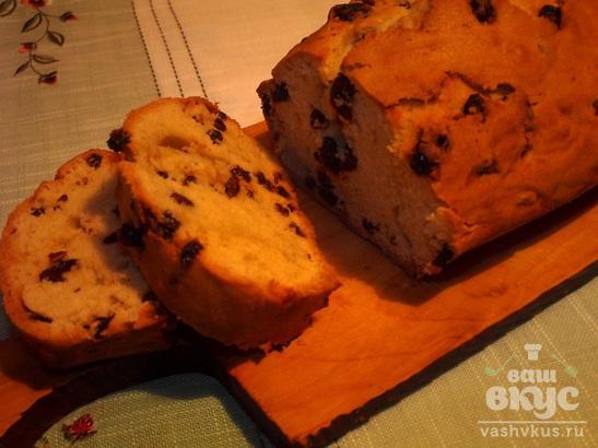 Кекс с изюмом в домашних условиях рецепт с пошагово с
