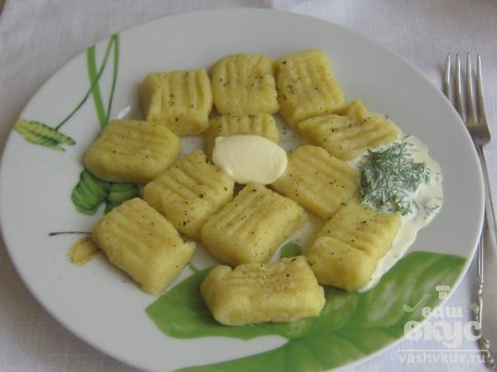 Ньокки с сыром