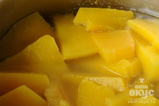 Тыквенный суп с ньокками