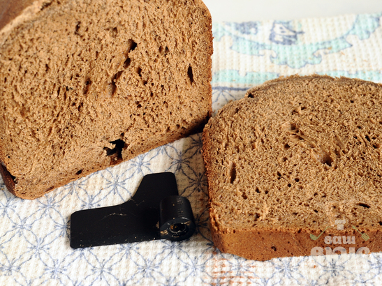Пшеничный хлеб с ржаным солодом на сыворотке