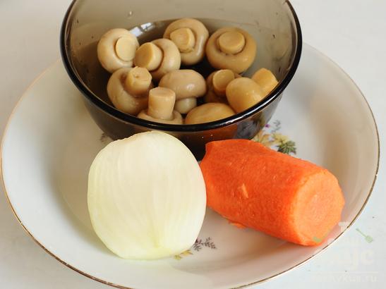 Тыквенные ньокки с грибным соусом