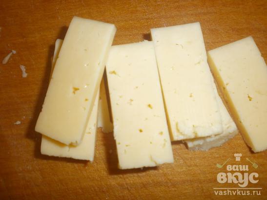 Котлеты внутри с сыром