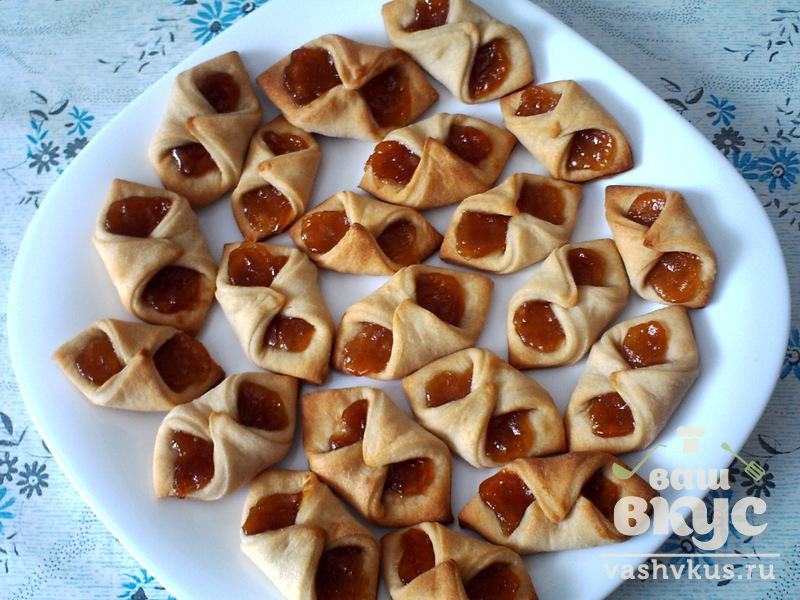 Печенье с вареньем в духовке