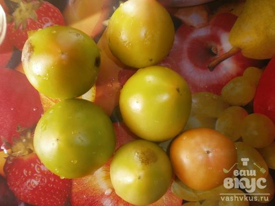Вкусные зеленые помидоры маринованные