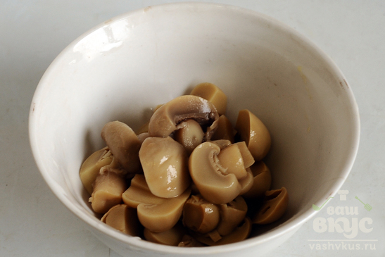 Щи вегетарианские с грибами и чечевицей