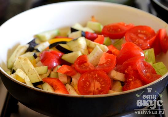 Говядина на овощной подушке