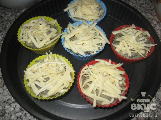 Маффины из картошки и грибов