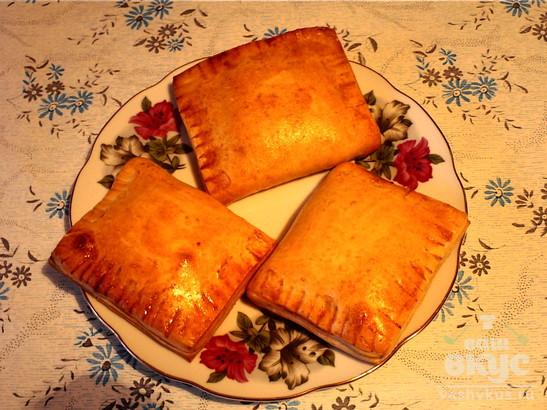 Дрожжевые пирожки с повидлом