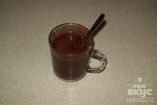 Творожно - шоколадный пудинг