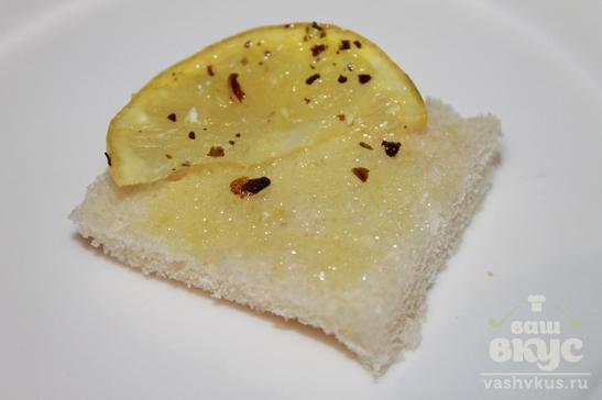 Закусочные бутерброды с брынзой