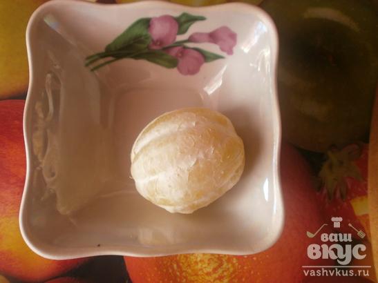 Варенье из кусочков лимона
