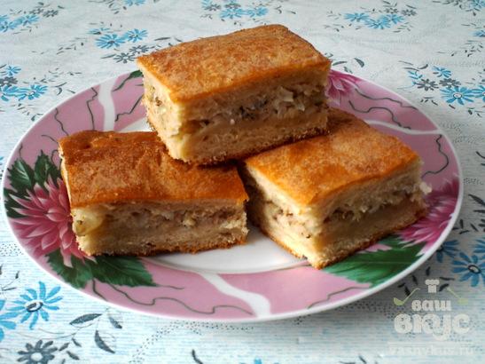 Пирог из рыбы консервы рецепт с