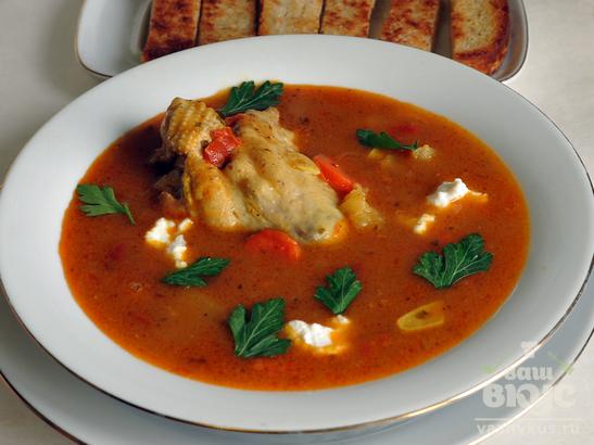 Суп индийский Малигатавни