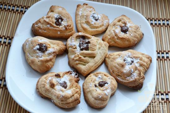 Домашнее печенье через мясорубку
