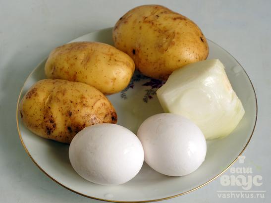 Картофельно - грибная запеканка