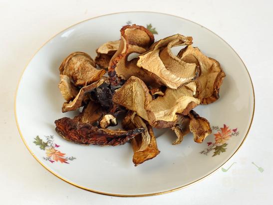 Рисово - пшенная каша с грибами