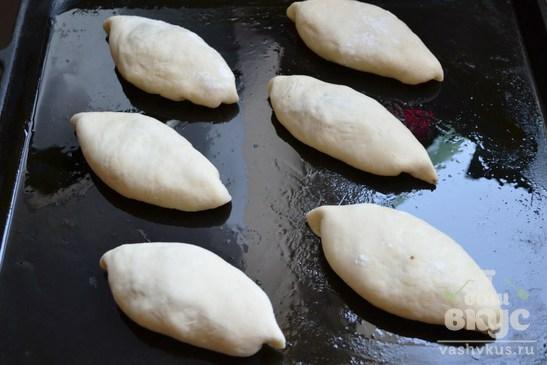 Печеные пирожки с ливером