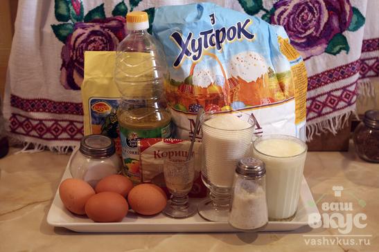 Кукурузные вафли с бадьяном