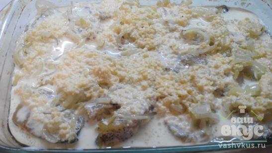 Рыба под соусом в духовке