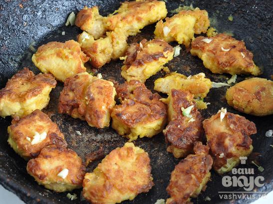 Куриная грудка в горчичном соусе