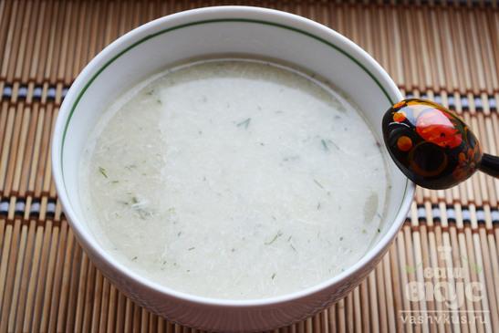 Суп-пюре с рисом