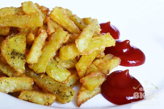 Картошка-фри в казане