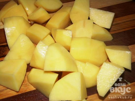 Борщ с фасолью и субпродуктами