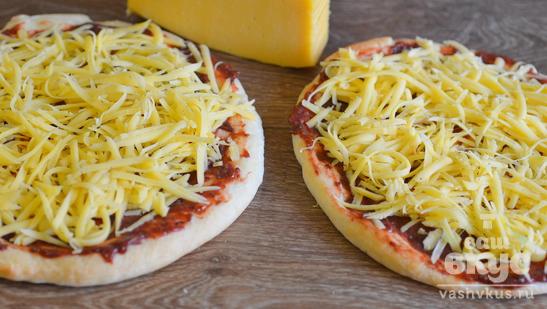 Пицца на готовой основе