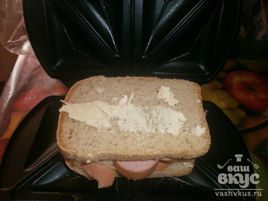 Горячие бутерброды в сэндвичнице