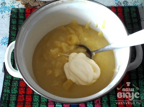 Кабачково - картофельное пюре