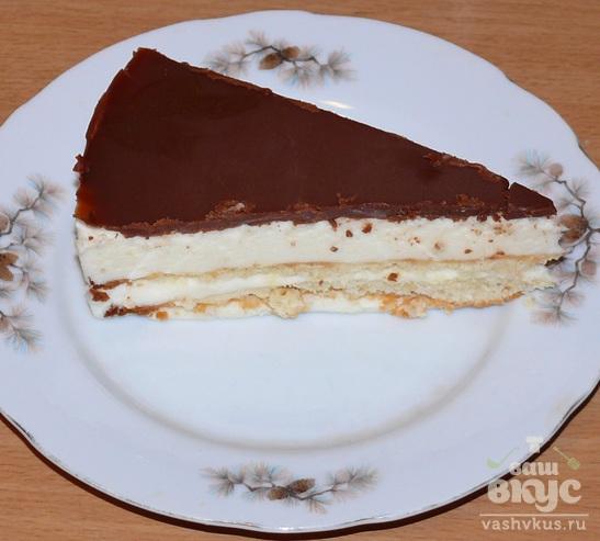 Торт «Птичье молоко» без манки